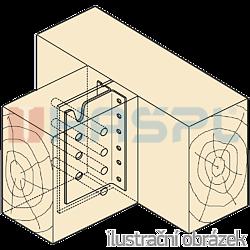 Trámová spojka skrytá Typ2 80x75x2,0 - 2