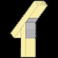 Úhelník 135° Typ1 80x180x60x2,5 - 2/3