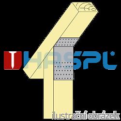 Úhelník 135° Typ1 140x180x60x2,5 - 2