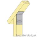 Úhelník 135° Typ1 60x180x60x2,5 - 2/3
