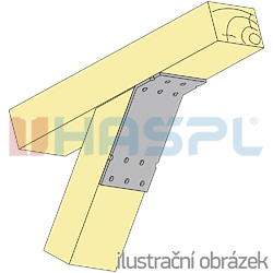 Úhelník 135° Typ2 100x90x30x2,5 - 2