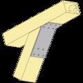 Úhelník 135° Typ2 120x90x30x2,5 - 2/3