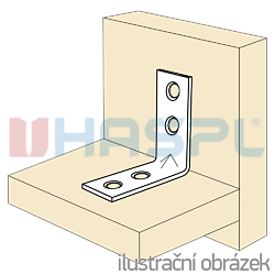 Úhelník 90° Typ4 Prolis 16x35x35x1,5 nábytkový - 2