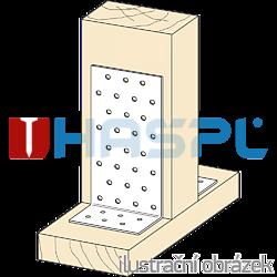 Úhelník 90° Typ1 80x60x60x2,0 - 2