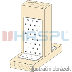 Úhelník 90° Typ1 40x60x60x2,0 - 2