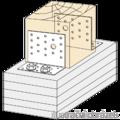 Úhelník 90° Typ2 40x65x120x3,0 - 2/3
