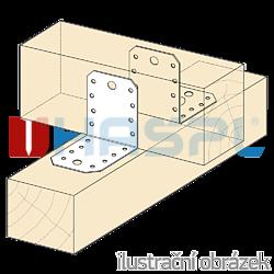 Úhelník 90° Typ4 55x70x70x2,0 - 2