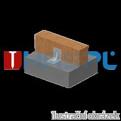 Úhelník 90° Typ4 Prolis 90x105x105x3,0 drážka - 2