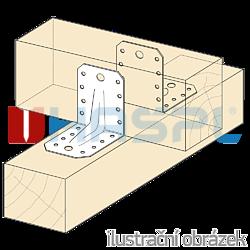 Úhelník 90° Typ4 Prolis 35x50x50x2,0 - 2