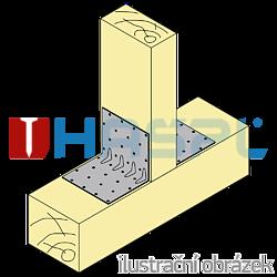 Úhelník 90° Typ5 Prolis 100x53x53x1,5 - 2