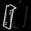 Gerberova spojka šikmá 180x30x65x2,0 - 3/3