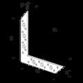 Rohovník 85x85x32x2,0 - 3/3
