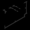 Spojovací deska 45x120x2,0 - 3/3