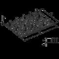 Styčníková deska s hroty 24x60x1,0 - 3/3