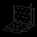 Úhelník 90° Typ1 80x60x60x2,0 - 3/3
