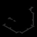 Úhelník 90° Typ5 Prolis 80x70x70x1,5 - 3/3