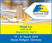 Hašpl a.s. - Fastener Fair Stuttgart je za námi - žijeme spojováním