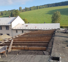 Hašpl a.s. - Rekonstrukce v Hynčicích - žijeme spojováním
